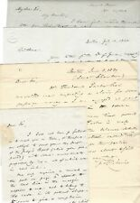 Radical Abolitionist Theodore Parker Wants Money For Voyage -- Pickering Archive