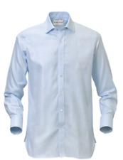 Dalvey Light Blue Herringbone Collar Size 16 TD079 XX 14