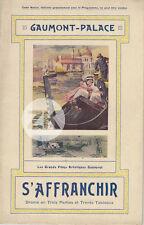 S'AFFRANCHIR Louis FEUILLADE Carl VENISE Navarre Melchior GAUMONT-PALACE 1913