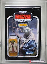 2004 STAR WARS ESB VINTAGE ORIGINAL TRILOGY COLLECTION YODA AFA 8.5 U
