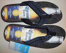 "Men's  New Color-Black "" Corona Comfort Flip Flops"" Size large 10/11"