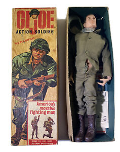 Vintage GI Joe 1968 Action Soldier New In Original Box All Papers Original Price