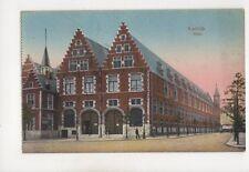 Kortrijk Halle Belgium Vintage Postcard 356b