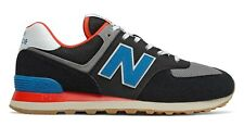 NEW BALANCE 574 Core Plus Scarpe Uomo Sneakers  BLACK NEO BLUE ML574SOV