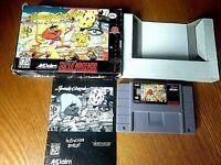 SPEEDY GONZALES LOS GATOS BANDIDOS COMPLETE 1994 Authentic Super Nintendo SNES