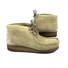 Clarks 35385 Originals Wallabees Sand Suede Shoes Size 7.5M Women