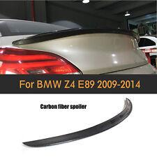 3D Design Kofferraum Spoiler Flügel Passend für BMW Z4 E89 2009-2013 Kohlefaser
