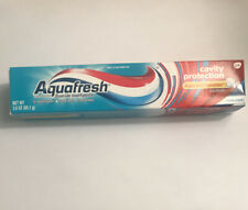 New 1 pack Aquafresh Cavity Protection Fluoride Toothpaste, Cool Mint 3 oz