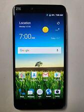 New listing ZTE Blade X Max - Z983 - 32GB - Blue/Black (Cricket Wirless) Smartphone