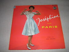 JOSEPHINE BAKER 33 TOURS FRANCE CHANTE PARIS
