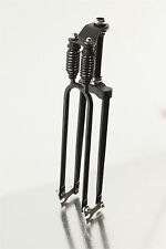 Black Whizzer Monark T2 Heavy Duty Bicycle Bike Springer Fork BUILT IN USA
