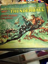 007 Thunderball 4 Track Sean Connery Cover Sealed Very Rare!!