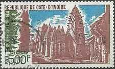 Timbre Religion Mosquée Cote d'Ivoire PA68 o lot 13775