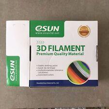 eSUN 3.00mm ABS 3D Printer Filament 1kg Spool (2.2lbs) GREY - NEW OPEN BOX