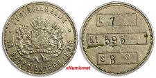 NETHERLANDS EAST INDIES Post Office Savings Bank (Postspaarbank) Token 30mm