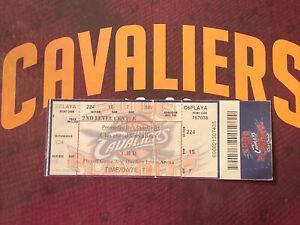 2006 Cleveland Cavs Lebron James 1st NBA Playoff Game Ticket Stub