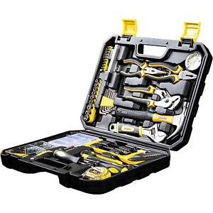 Werkzeugkoffer Werkzeug Set WMC Tools 100 Teile Kasten Box Kiste Heimwerker Bits