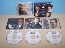 Tony Bennett / Perry Como / Mel Torme / Bing Crosby 4 CD Box Set - 40 Tracks