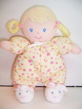 CARTER'S DOLL - CHILD OF MINE - BLONDE LOOP BRAIDS - YELLOW / BUNNY SLIPPERS EX.