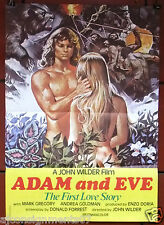 Adam and Eve (Mark Gregory) Original Lebanese Movie Poster 80s