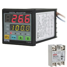 Digital F/C PID 25A SSR Thermostat Temperature Controller J S K E Thermocouple