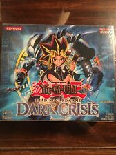 Yugioh Dark Crisis Sealed 1st Edition English Booster Box Of 24 Packs