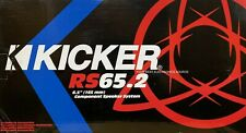 """NEW KICKER RS65.2 RS Series, 6-1/2"""" 2-Way Component / Coaxial Speakers 09RS652"""