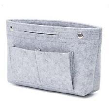 Women's Handbag Organizer Bag Purse Insert Bag Felt MultiPocket Tote Useful Bag