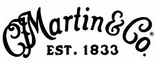 Martin Decal Logo Sticker for Guitar Hard Case, Amp Cab, Wall Art, Window, Car