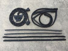 81-88 Monte Carlo with Wide Chrome 8 PC Weatherstripping Seal Kit