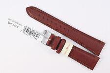 MORELLATO: Uhrenarmband 20mm Weiches Kalbsleder Braun Handgefertigt Länge: M