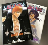 BLEACH Illustration Official Animation Book VIBEs. and Character Book SOULs. Set