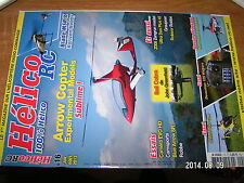 Revue Helico RC n°16 Arrow Copter Spark 550 Bien choisir Helico Bell Cobra