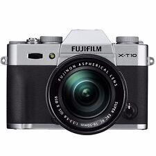 Fujifilm X-T10 Mirrorless Digital Camera with 16-50mm Lens (Silver)  UDAC - READ