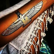NEW METALLIC GOLD SILVER TEMPORARY EGYPTIAN BIG DAY OUT BOHO  FESTIVAL TATTOO