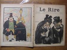 23/02/1901 LE RIRE 329 Abel Faivre Moriss Huard