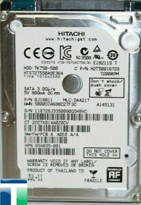 """Hitachi 500GB SATA - III 2.5"""" 9.5mm 5400RPM 6Gb/s HDD"""