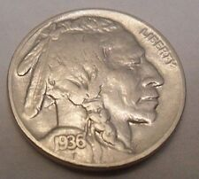 "1936 P INDIAN HEAD ""BUFFALO"" NICKEL  **FREE SHIPPING**"