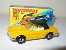 Matchbox Superfast 6 Mercedes 350sl – Orange/Black MIB