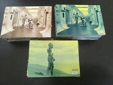 2018 Star Wars A New Hope Black & White Parallel /99, Sepia & Parallel Blue