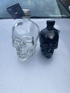 crystal head vodka skull bottle