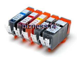 5 INK PGI 520 CLI 521 to MP620 MP630 MP980 + inc CHIPS