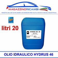 OLIO IDRAULICO ANTIUSURA IP HYDRUS 46 FUSTO DA LITRI 20