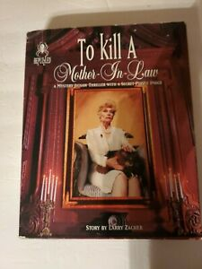 Bepuzzled To Kill A Mother in Law Mystery Jigsaw Puzzle Vintage 1995 complete