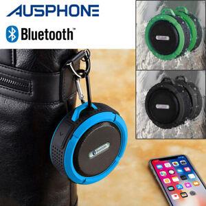 Waterproof Wireless Mini Car Bluetooth Shower Music Speaker Handsfree Portable