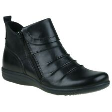 Planet Shoes Comfort Leather RIPPLE Black