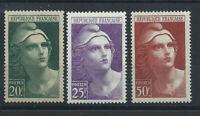 France N°730/32** (MNH) 1945/47 - Marianne de Gandon (bis)