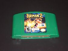 Rayman 2: The Great Escape Nintendo 64 N64 Cleaned & Tested