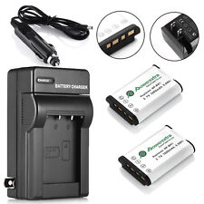 2x 1600mAh NP-BX1 Battery + Charger For Sony Cyber-shot DSC-RX100 II HX300 AS100
