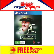 Don Bradman Cricket PS4 New & Sealed Free Express Post In Stock Now